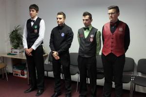 MČR juniorů v trojbandu VS 2016